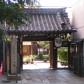 山門は木屋町通りに面してビルの狭間にこっそりあります。